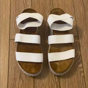Steve Madden Platform Sandals Slides